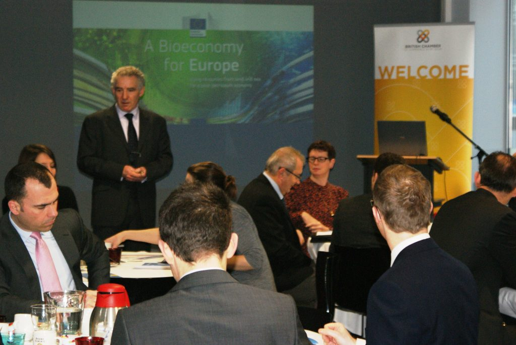 """EU Committee Business Lunch with Damien Levie, Head of Unit USA & Canada, DG TRADE : """"EU-US Trade Relations"""""""