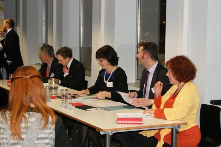 Panel Debate on EU: More or Less? The Internal Market, 20 February 2013