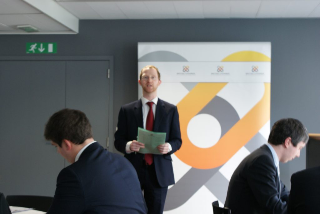 """EU Committee Business Lunch with Peter Liese, MEP – """"Clinical Trials, Medical Devices and IVD Medical Devices Regulatory Review Process"""""""