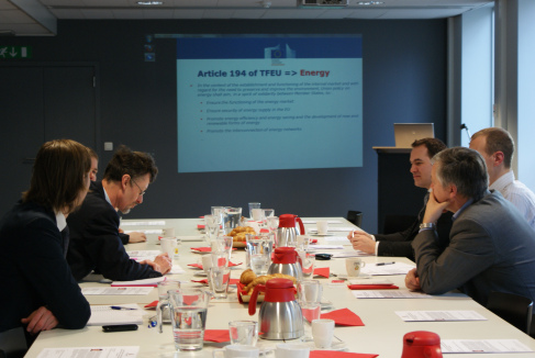 """Energy, Environment & Transport task force Briefing with Mr Jeffery Piper, External Energy Policy, DG Energy – """"EU energy external policy: between Russia and the US?"""""""