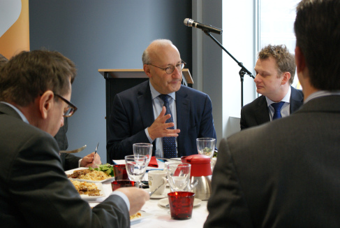 """EU Committee Lunch Briefing with Philippe Etienne, Permanent Representative of France to the EU – """"The re-industrialisation of Europe: the role of the EU, national governments and business """""""