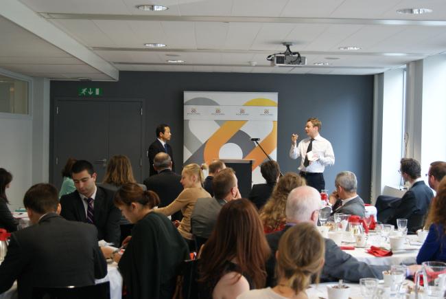 "EU Committee Business Lunch with Kojiro Shiojiri, Ambassador of Japan to the European Union, The Mission of Japan to the European Union – ""International Trade"""