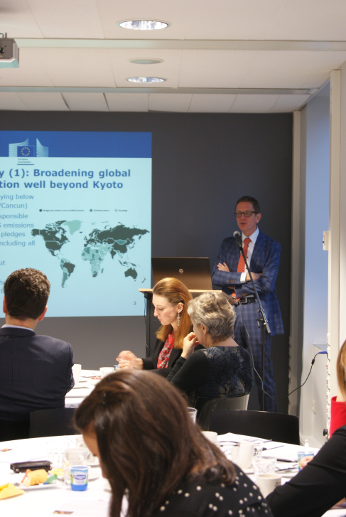 """EU Committee Breakfast Briefing with Artur Runge-Metzger, Director, Directorate A, International & Climate Strategy, DG Climate Action, European Commission – """"EU 2030 Climate and Energy policy: an international perspective of the carbon strategy"""""""
