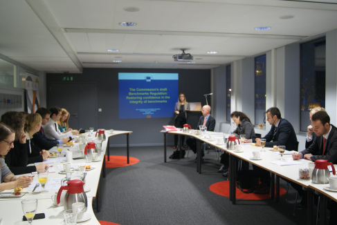"""EU Committtee Breakfast Briefing with Philip Tod, Deputy Head of Unit, Securities Markets, DG Internal Market and Services – """"The Commission's draft Benchmarks Regulation – Restoring confidence in the integrity of benchmarks"""""""