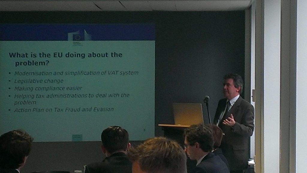 EU Committee Business Lunch with Thomas Carroll – Head of Unit Taxation and Customs, DG TAXUD, European Commission