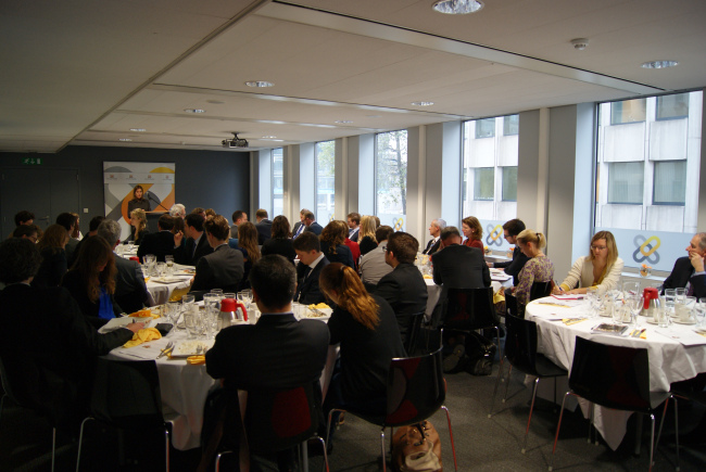"""EU Committee Business Lunch with Laurence de Richemont, Adviser, Cabinet for President Barroso, European Commission – """"Industrial Policy, Innovation and Science"""""""