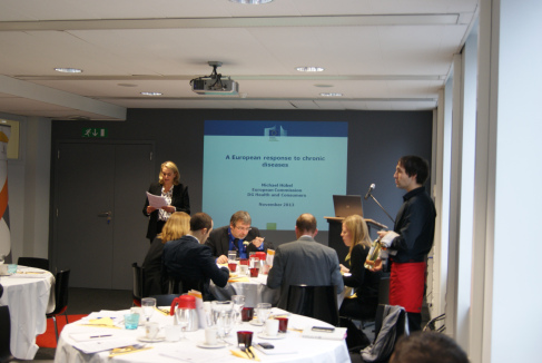 EU Committee Business Lunch with Michael Huebel, Head of Unit, Health Programme and Diseases, DG SANCO, European Commission