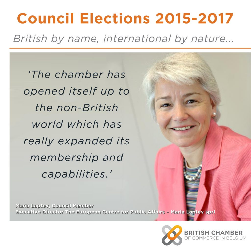 Introducing: Maria Laptev, European Centre for Public Affairs