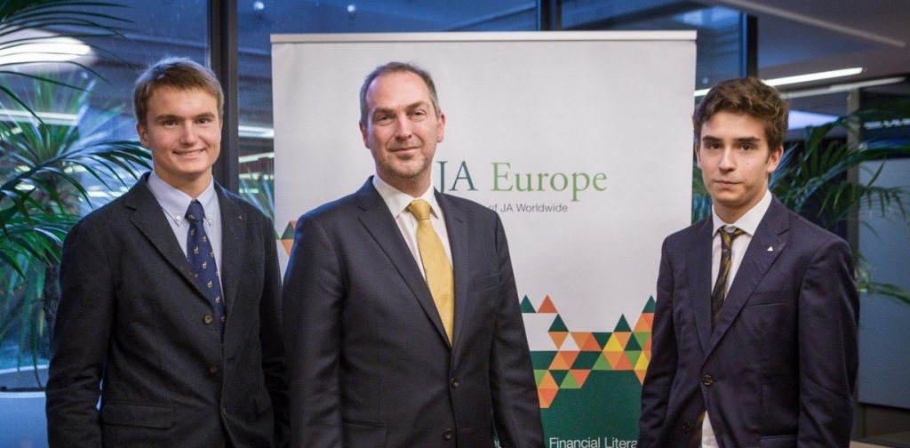 The British Chamber and JA Europe present Leaders-for-a-Day!