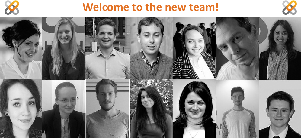 Welcome to the new team!