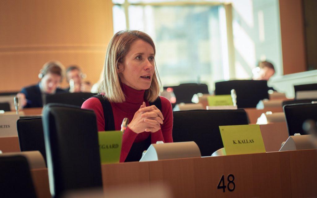 A day in the life of MEP Kaja Kallas