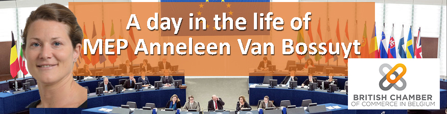 A day in the life of MEP Anneleen Van Bossuyt
