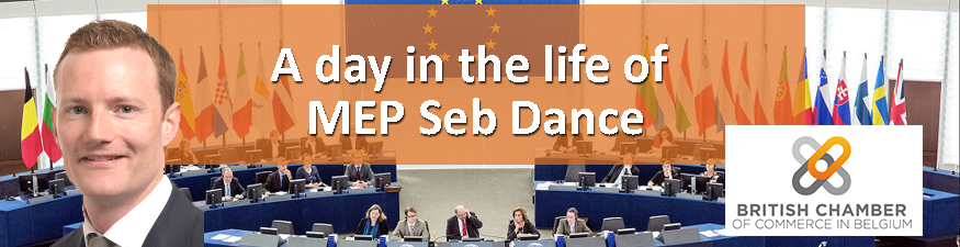 A day in the life of MEP Seb Dance