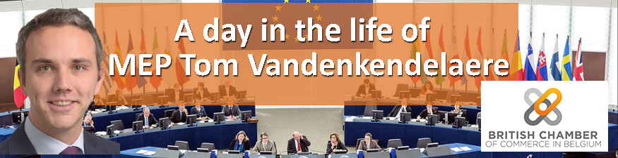 A day in the life of MEP Tom Vandenkendelaere