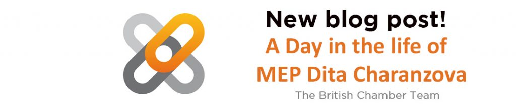 A Day in the life of MEP Dita Charanzová