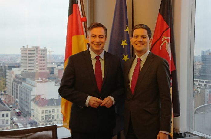 A Day in the Life of David McAllister MEP