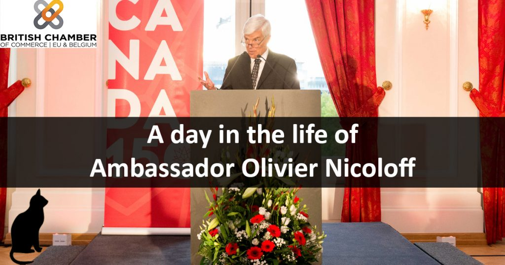 A Day in the Life of An Ambassador: Olivier Nicoloff