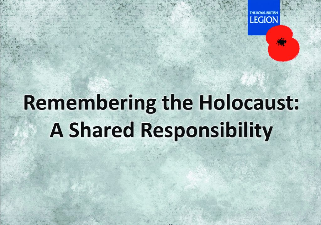 Remembering the Holocaust: A Shared Responsibility