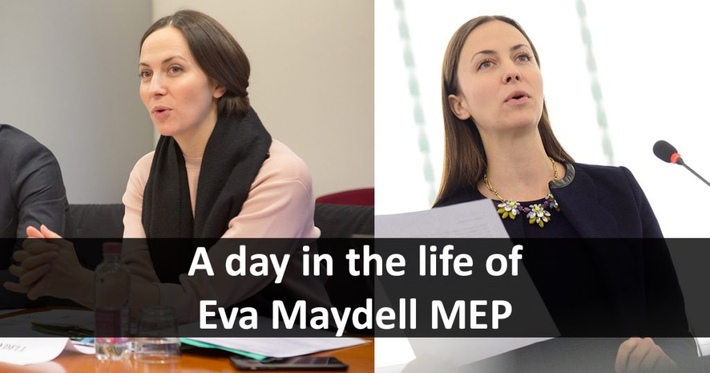 A Day in the Life of Eva Maydell MEP