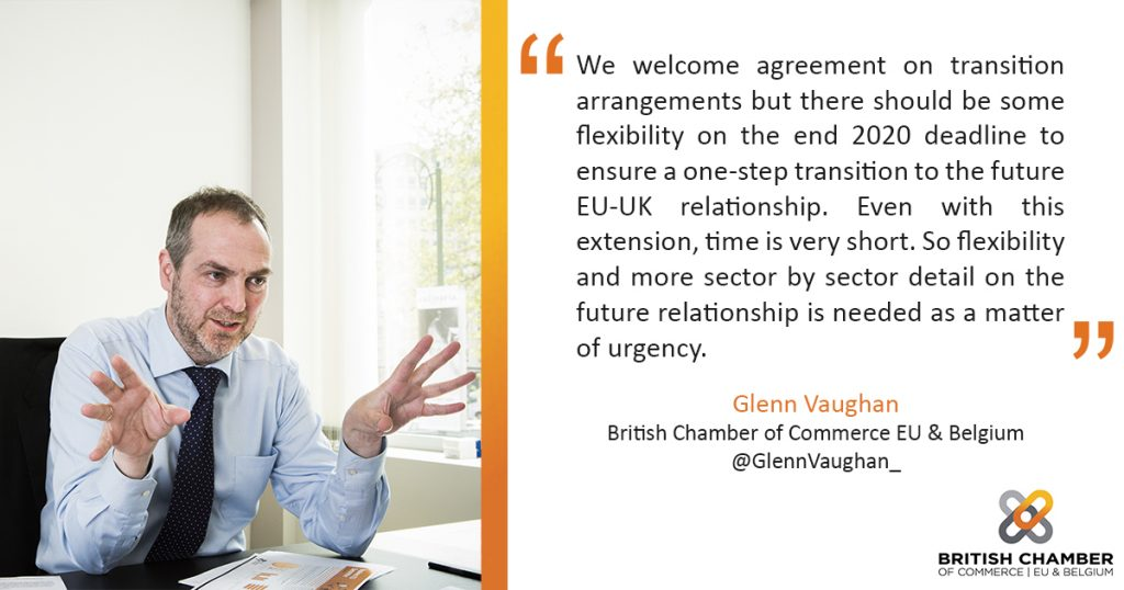 Reaction to European Council (Art. 50) guidelines on the framework for the future EU-UK relationship – 23rd March