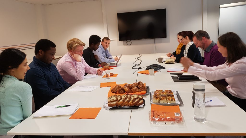 A Day in the Life of a British Chamber Intern