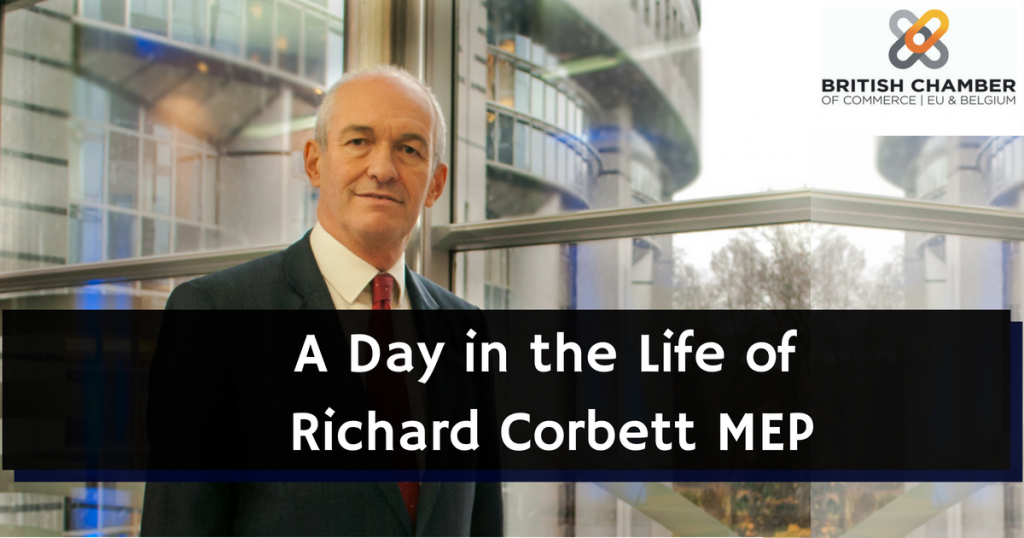 A Day in the Life of: Richard Corbett MEP