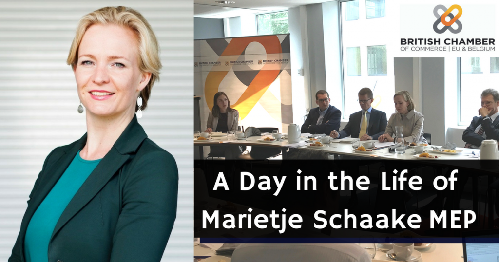 A Day in the Life of Marietje Schaake MEP