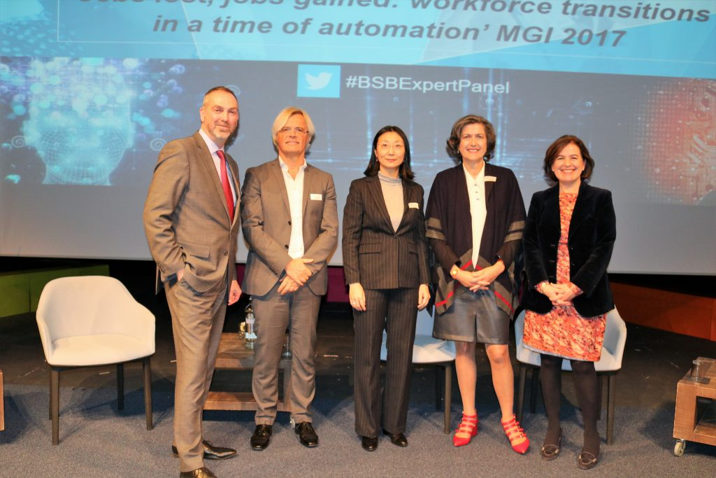 Will robots steal your job? A report on the British School of Brussels Expert Panel